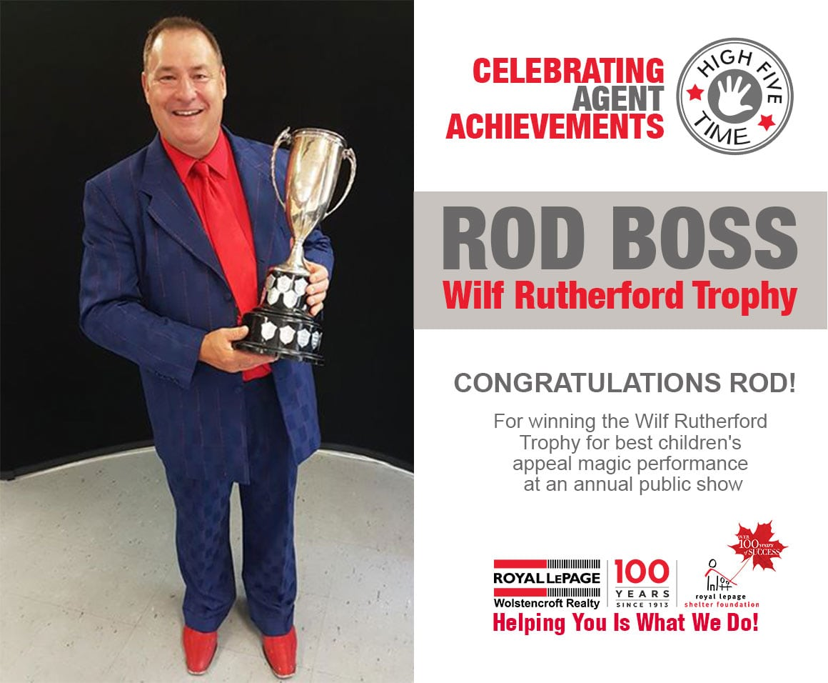 Agent Achievement – Royal LePage Wolstencroft Realty Langley BC