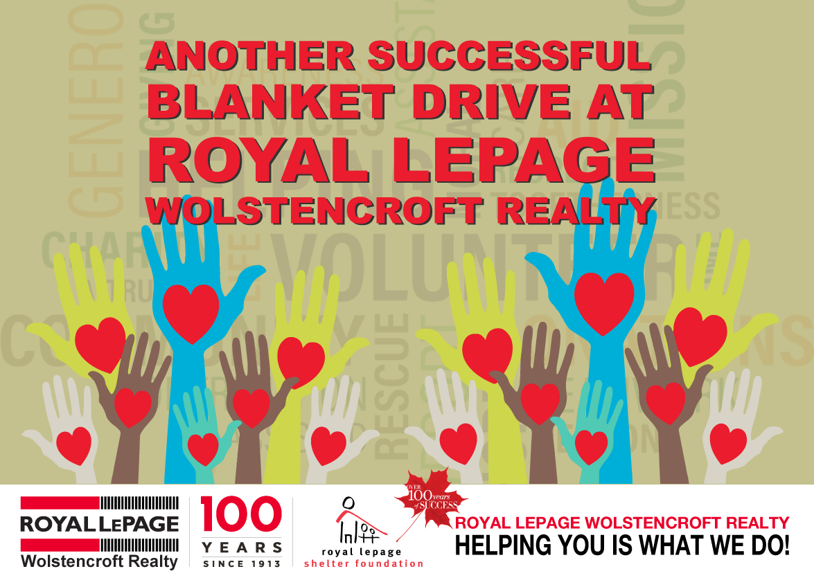 Royal-LePage-Wolstencroft-23-Annual-Realtors-Care-Blanket-Drive!