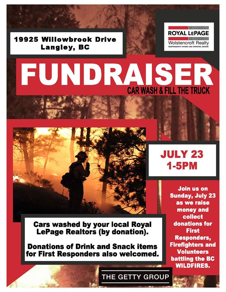royal-lepage-wolstencroft-realty-wild-fires-fundraiser-poster