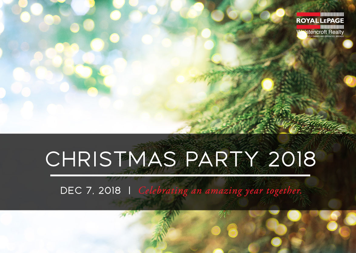 2018 Royal LePage Wolstencroft Christmas Party A Success