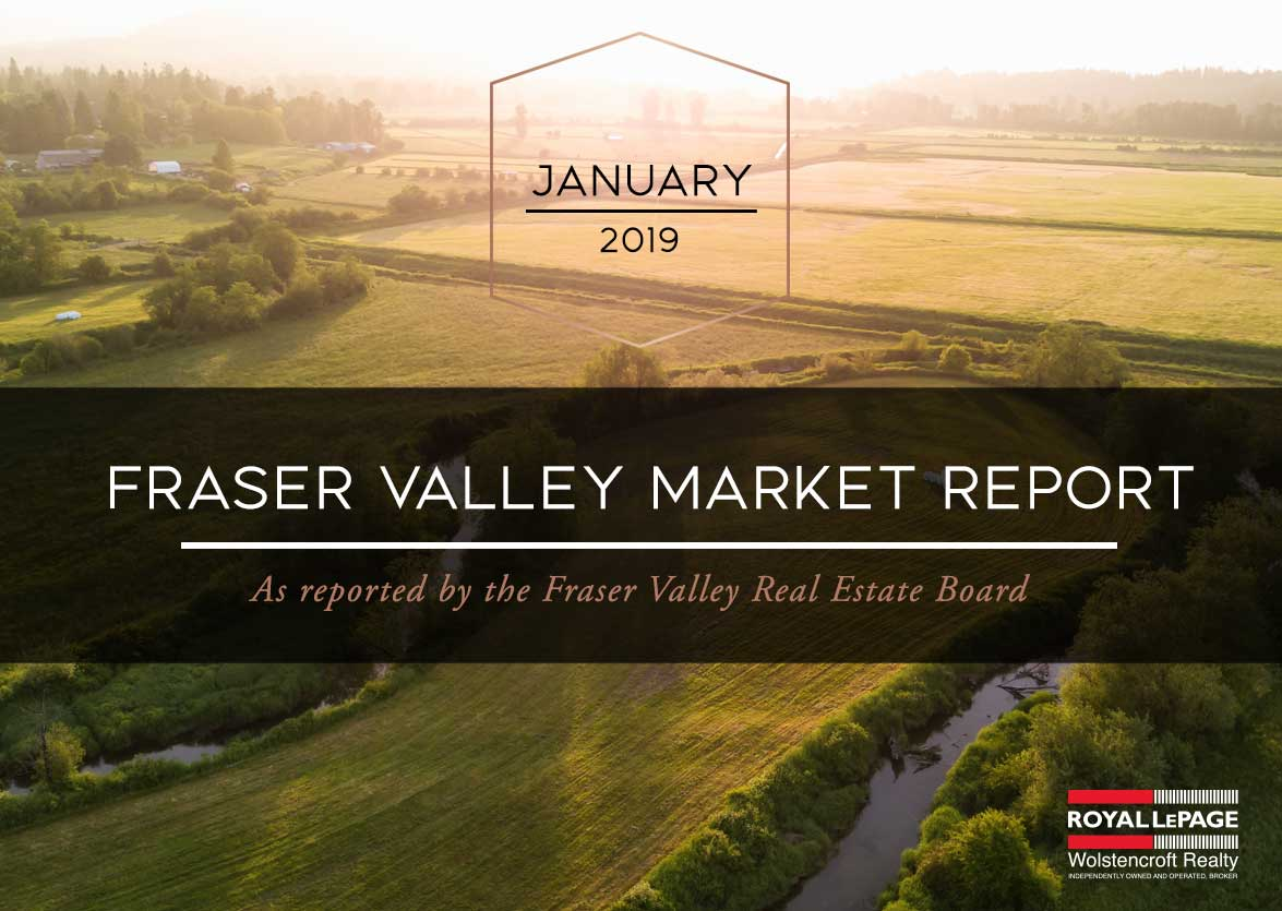 Fraser Valley Real Estate Board Report – January 2019