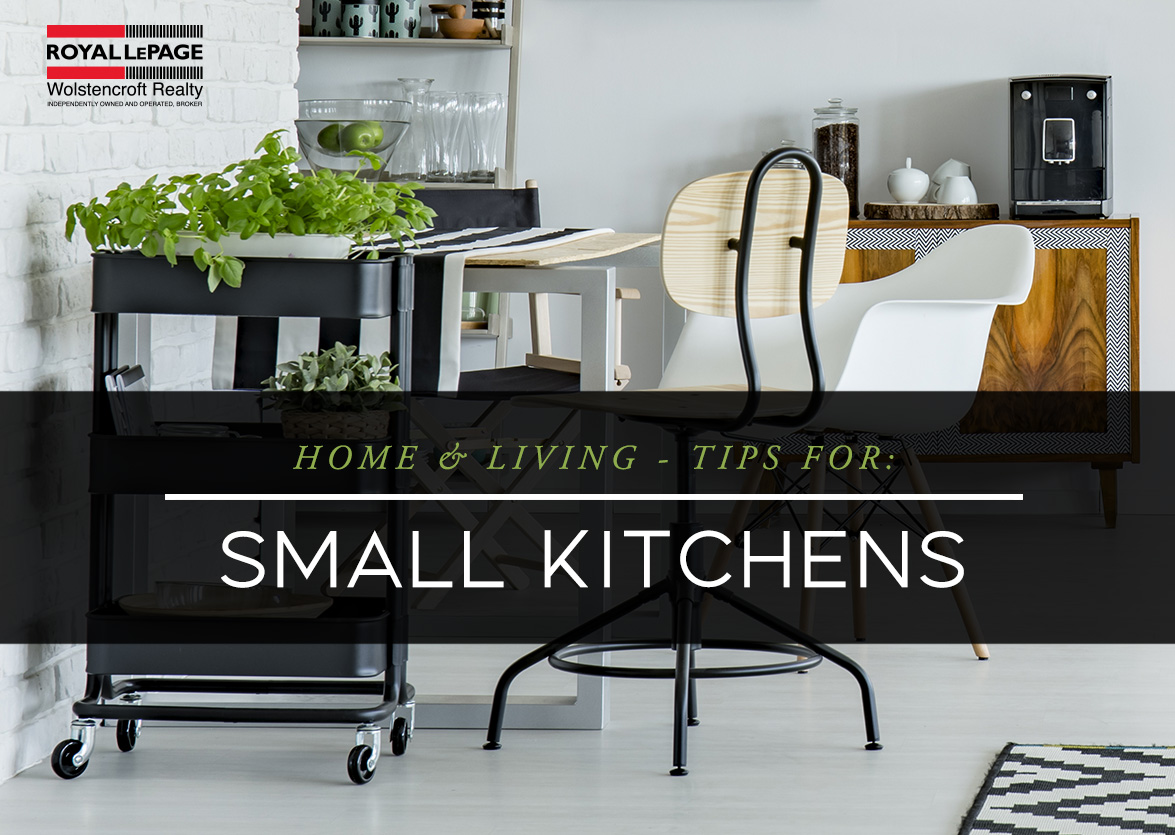 Home & Living: Tips for Small Kitchens