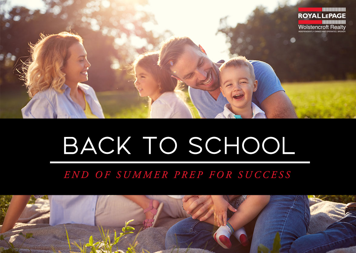 End of Summer Prep for Back To School Success