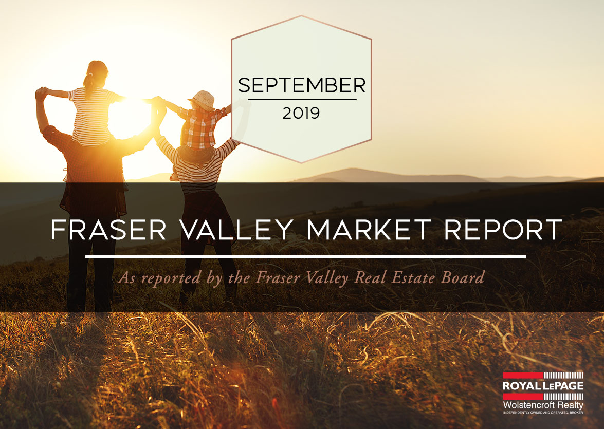 Fraser Valley Real Estate Board Report – September 2019
