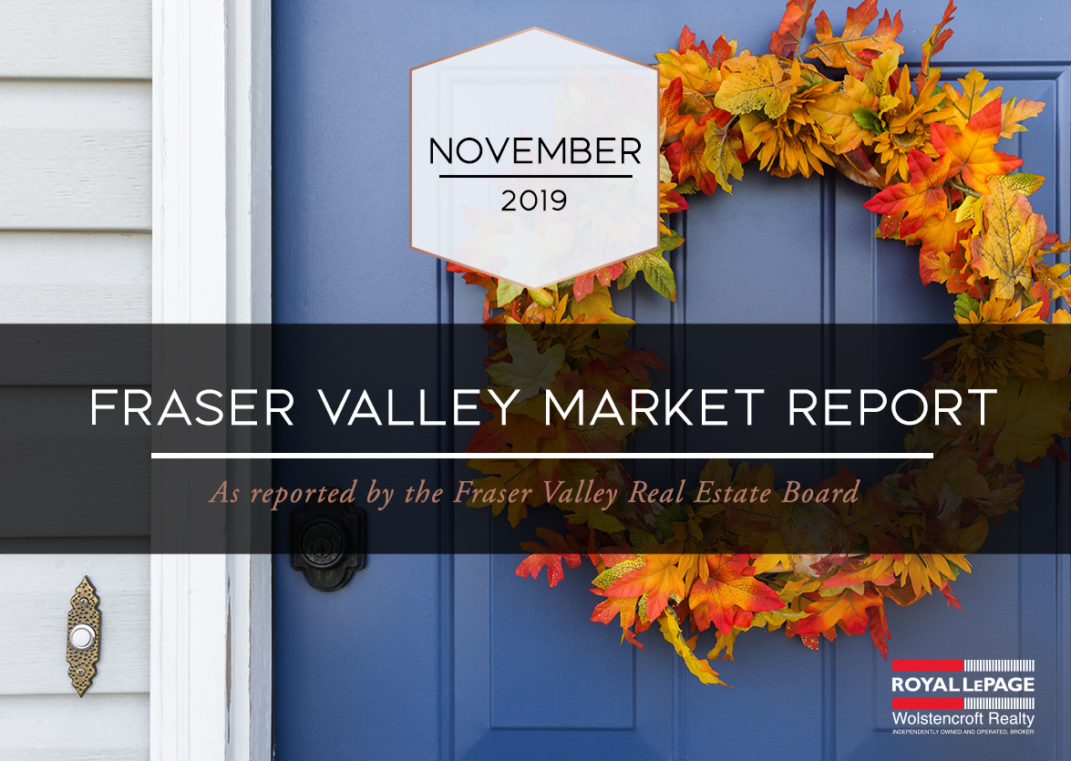 Fraser Valley Real Estate Board Report – November 2019