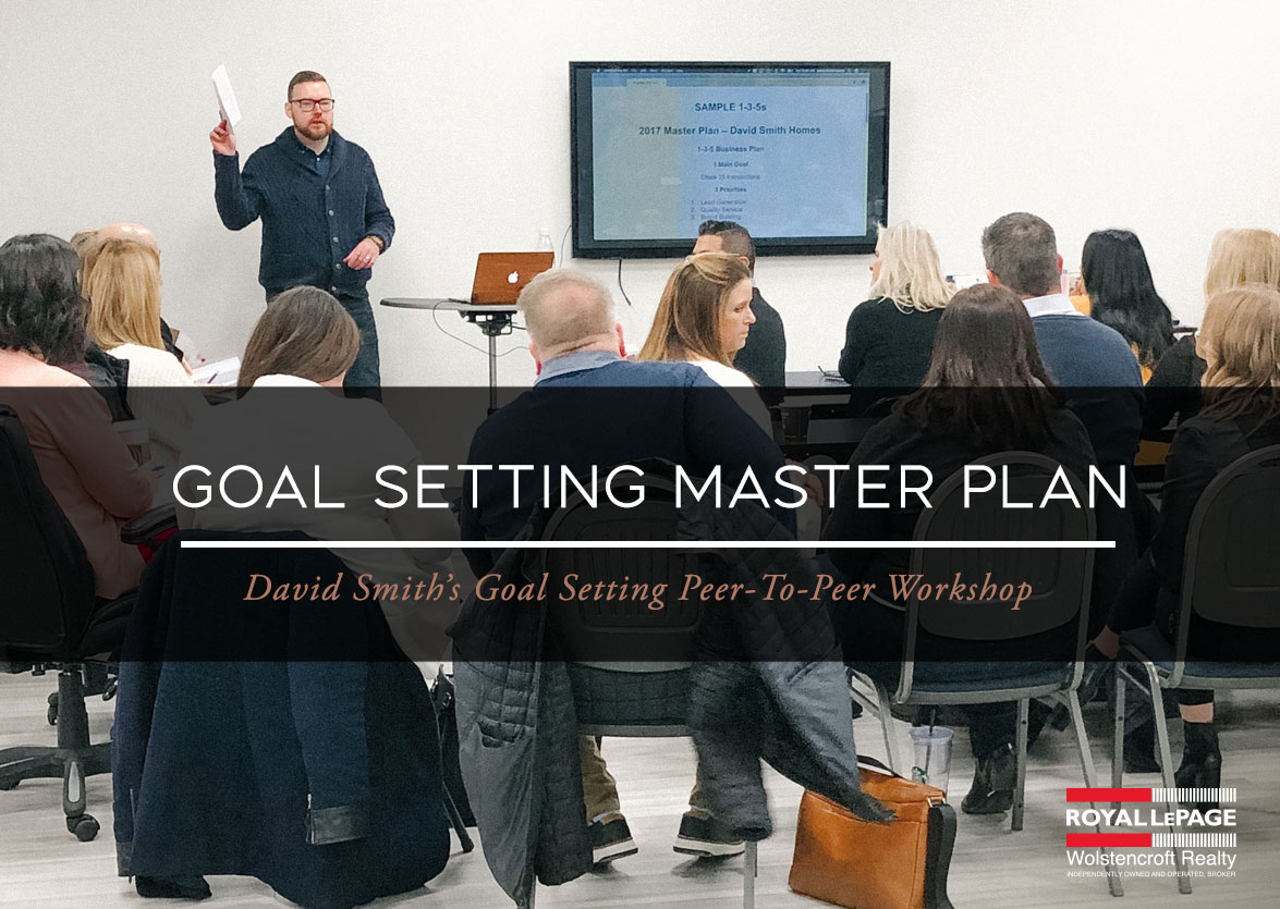 Goal Setting Master Plan