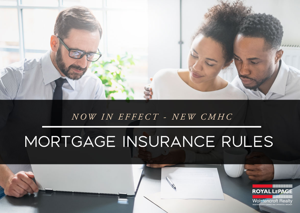 New CMHC Mortgage Insurance Rules Now In Effect