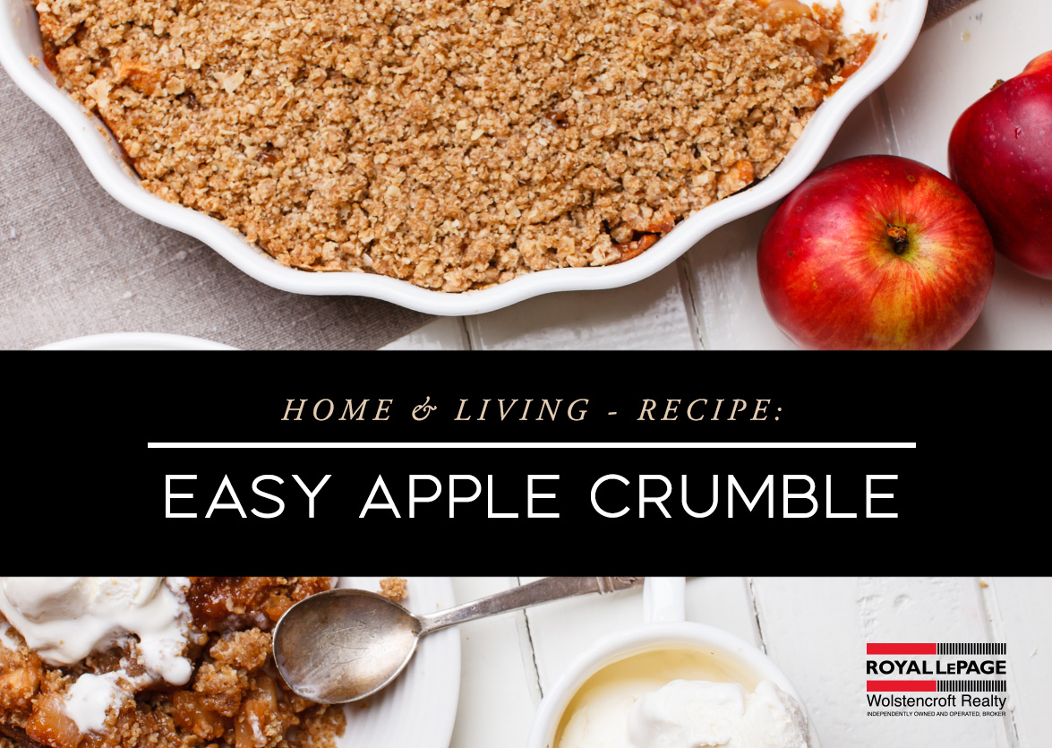 Easy Apple Crumble for Fall