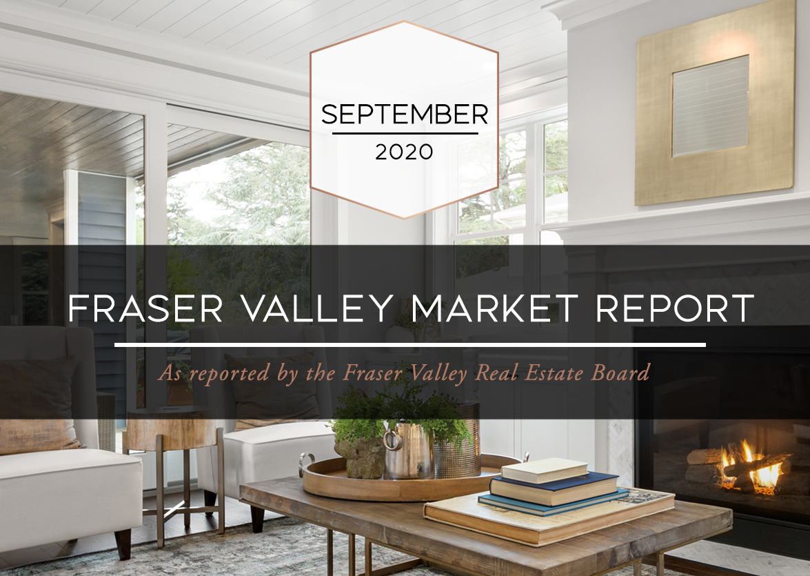 Fraser Valley Housing Market Statistics – September 2020