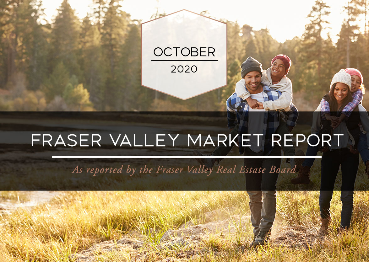 Fraser Valley Housing Market Statistics – October 2020