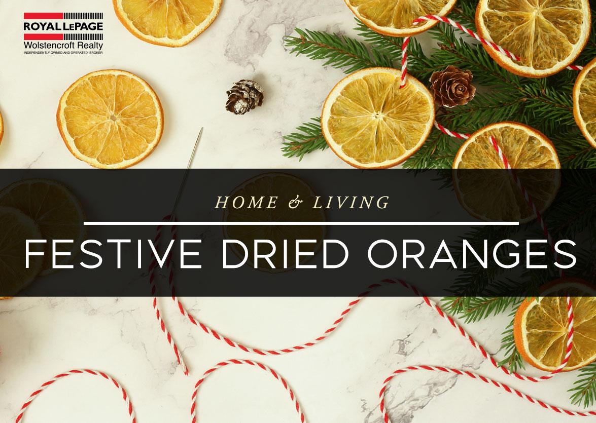 Festive Dried Oranges