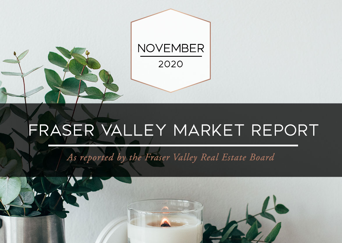 Fraser Valley Housing Market Statistics – November 2020