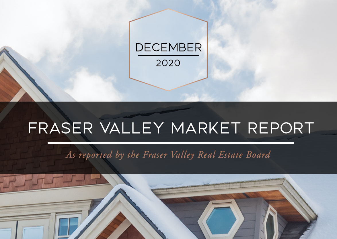 Fraser Valley Housing Market Statistics – December 2020